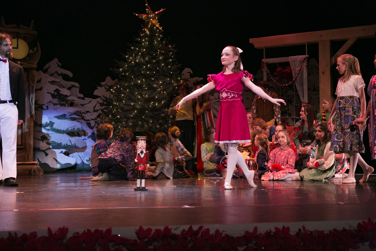 Marie with Nutcracker